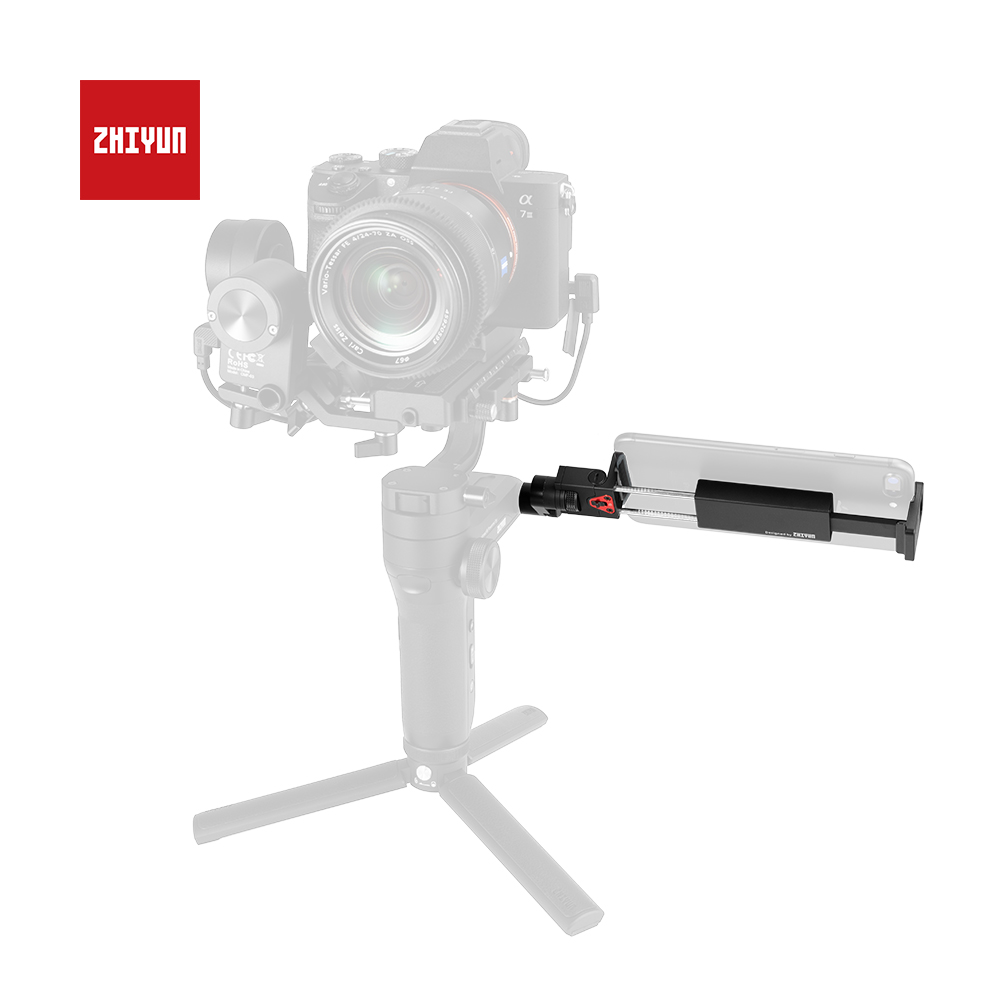 ZHIYUN Original Monitor Smartphone Holder 360 Degree Rotation with 1 4 Thread for Crane 3 Lab