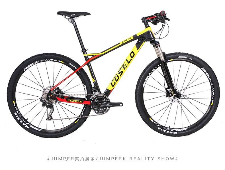 HTB1NH1aXlfM8KJjSZFhq6ARyFXa6 - 27.5/29inch carbon fiber mountain bicycle Pneumatic shock 30/ 33 velocity carbon fiber body light-weight Cross nation weapon MTB