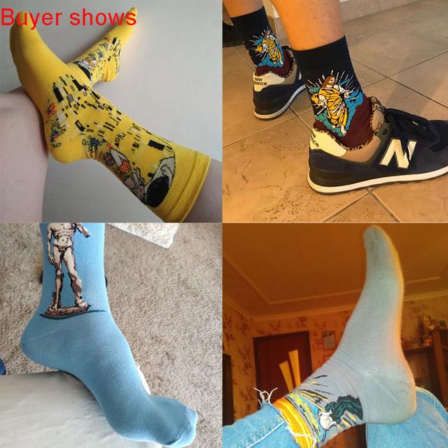 Funny Art Dress Socks