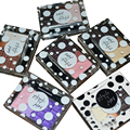 3 Colors/set Natural Color Eyebrow Palette Eyeshdow with Brush Mirror 6 Patterns Available Makeup Set