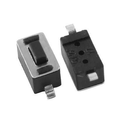 50 pcs 3 x 6mm x 4.3mm Micro Momentary Tact Tactile Push Button Switch SMD SMT 6 6 3 1mm smd5 black push button switch 6x6x3 1 touch micro switch 100pcs
