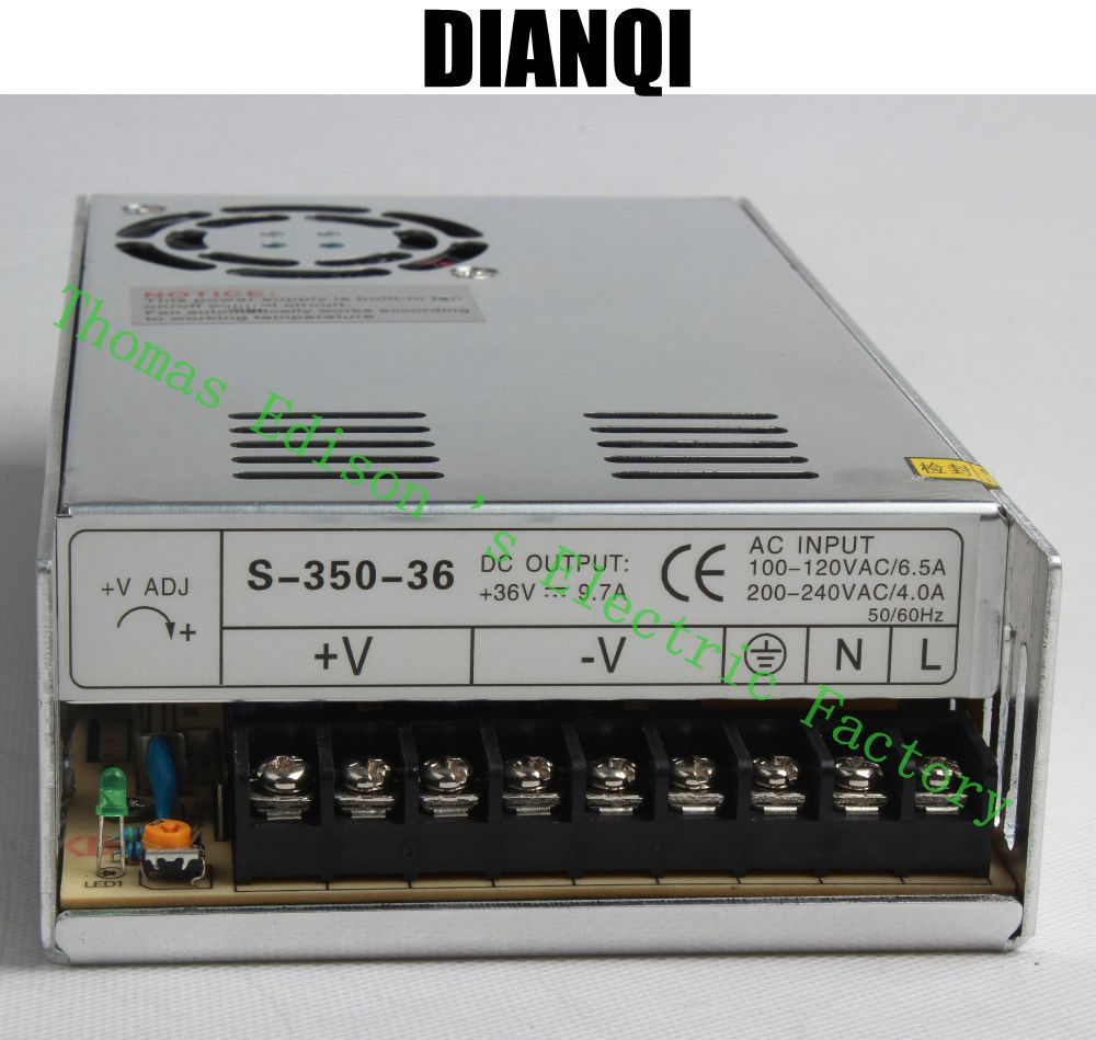 DIANQI High Quality Power Supply 36V 350W 9.7A AC to DC Power Supply AC DC Converter  S-350-36 wavelets as a tool to approach power quality