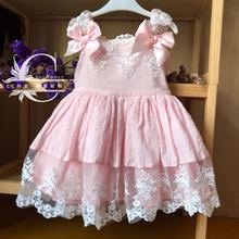 New Arrivals Spanish Court Dress Cotton Lace Quality Sweet Wedding Party Birthda