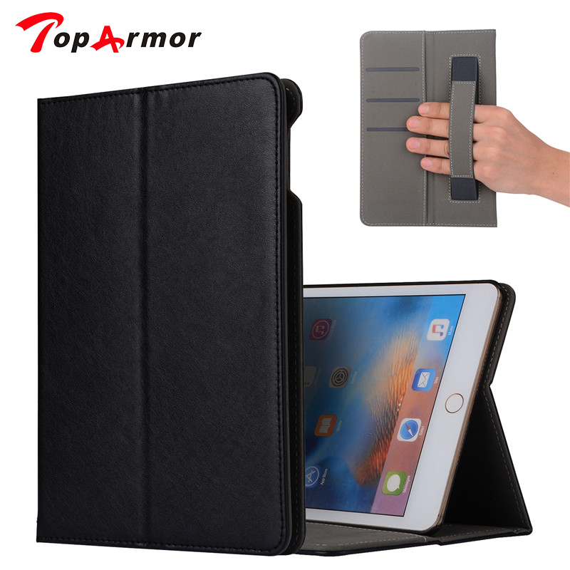 TopArmor For iPad Mini5 Tablet Leather Case Cover 7.9 Protective Stand Skin For Apple iPad mini 5 Shockproof Case Card Slots