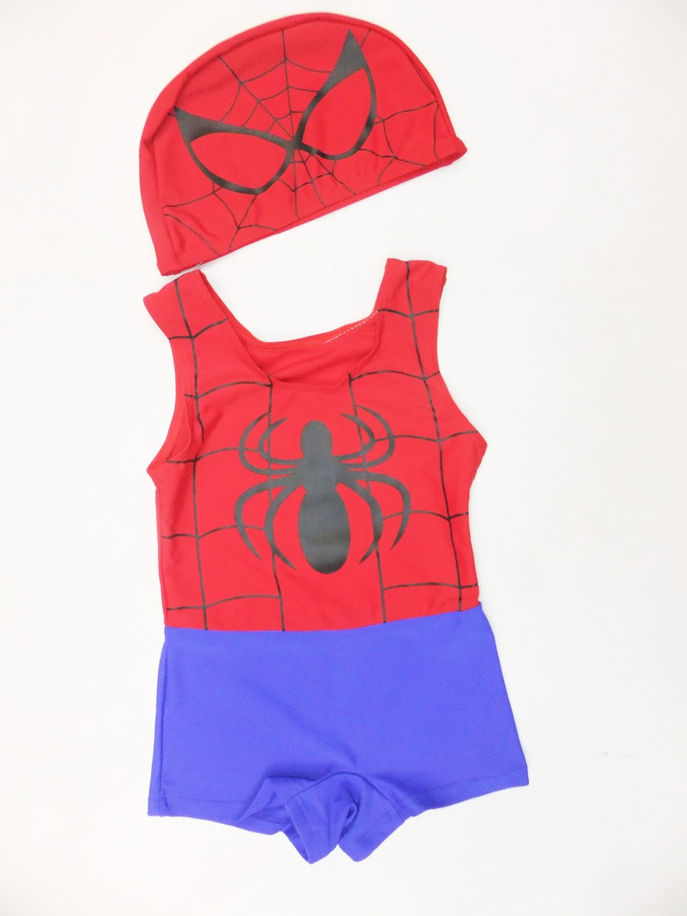 2- 6 years boy spider-man beach shorts/bathing suit,kid trunks,baby spider-man Prevent bask in clothes