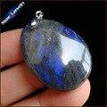 Promoción Natural Labradorita Gemas Mini Gota Colgante de Collar de Piedra Natural Colgantes de La Joyería Para hombre Collares de Suspensión GS503