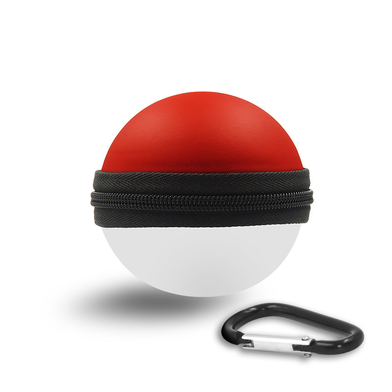 Carrying Case for New 2018 Pokemon Poke Ball Puls Controller Protective Hard Portable Travel Pokeball Case Bag for Nitendo Switch Accessories Pokeball (6)