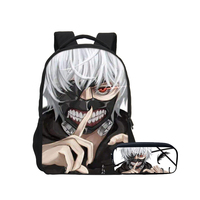 VEEVANV Fashion Tokyo Ghoul 3D Printing Children School Backpacks Set New Teenage Bookbags Boys Shoulder Bags Fashion Mochila