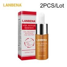 2pcs/lot LANBENA Nail Repair Essence Serum Fungal Nail Treatment Remove Onychomycosis Toe Nail Nourishing Brightening Foot Care