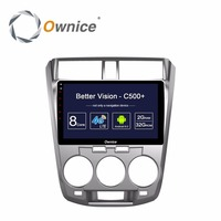 Ownice C500 Android Octa Core Car Radio Multimedia Player For HONDA CITY 2009 2010 2011 2012