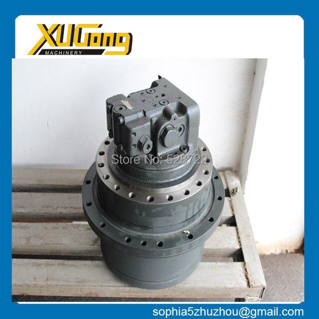 Excavadora de piezas de repuesto, motor de desplazamiento para PC120