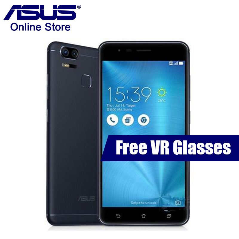 ASUS Zenfone 3 Zoom ZE553KL LTE 4GB 128GB Smartphone 5.5 Inch Snapdragon 625 FHD Fingerprint ID 5000mAh Android 6.0 Mobile Phone