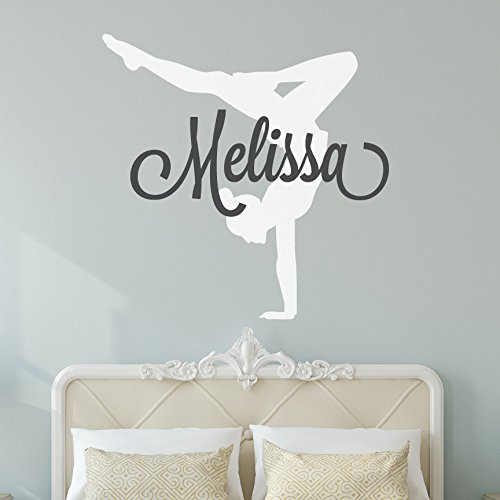 2017 New Arrival Wall Sticker Home Decor Mural Vinyl Letter Melissa Women  Gym Decals Wallpaper Art Removable Living Bedroom -in Wall Stickers from  Home ... c35158488