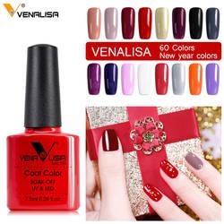 Venalisa Гель-лак для ногтей CANNI manicure Factory товары 7,5 мл Лак для ногтей светодио дный & UV Soak off color гель-лак