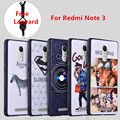 For XiaoMI Redmi Note 3 Case Anti-Knock Relief Print  Protector Cases 3D 360 Degrees Shell Cover For Xiaomi Mi RedMi note 3