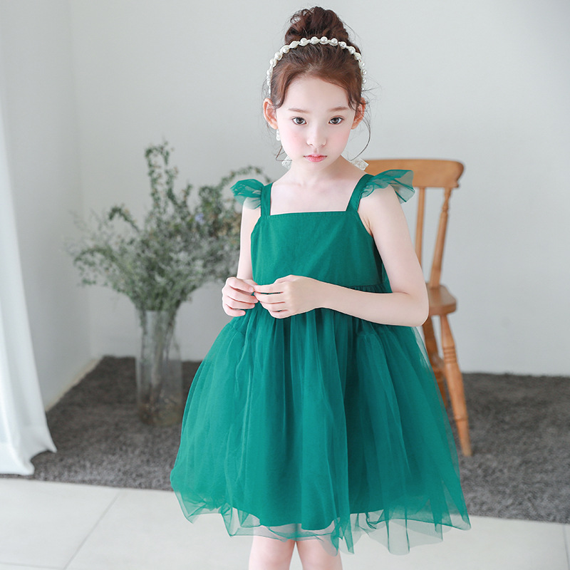 mesh patchwork princess girls dresses summer 2017 green red ball gown party evening little teenage girls dress  kids sundress lace mesh little teenage girls party dress layered spring summer 2017 long girl princess gown dress white pink sundress clothes