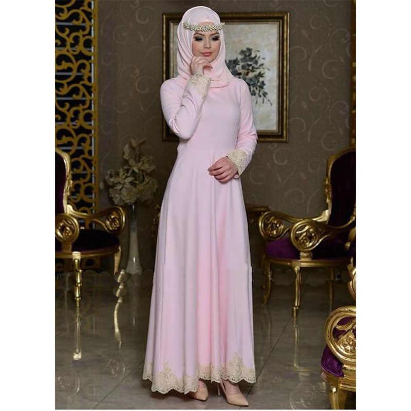 Модное женское вечернее платье в Дубае, турецкое, элегантное, исламское, мусульманское, кружевное, с вышивкой, сшитое, кафтан, абаи, одежда, халат для продажи