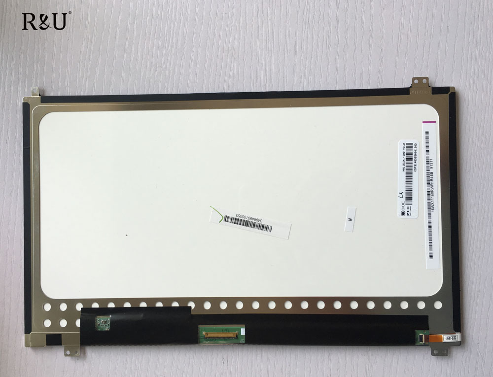 R&U 11.6 inch HN116WX1-100 V3.0 LED LCD display Digitizer Replacement part inner screen For Asus Transformer Book T200 T200TA black full lcd display touch screen digitizer replacement for asus transformer book t100h free shipping