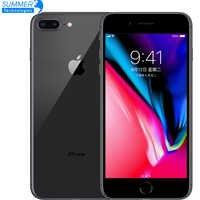 Téléphone portable d'origine débloqué Apple iPhone 8 Plus LTE 3GB RAM Hexa Core 12.0MP 5.5 iOS empreinte digitale utilisé Smartphone