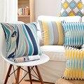 Animals Zebra Color Geometric Throw Pillow Cover Case Cotton Linen Cushion Cover For Sofa Home Decor Capa De Almofadas 45x45cm