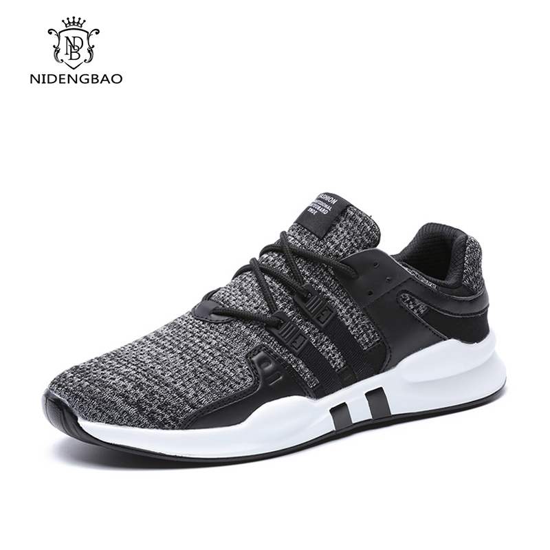 2018 nouveauté hommes chaussures mode maille chaussures décontractées pour homme printemps été baskets à lacets grande taille 47 chaussures hommes confortables