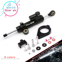 Motorcycle CNC Damper Steering StabilizerLinear Reversed Safety Control+Bracket For bmw F800GS/ADV F800 GS F 800 GS ADV