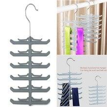 Fashion metal tie tie belt rack shawl scarf stand organizer
