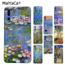 MaiYaCa Monet Jardim De Lótus Dominante Protetor de Caixa do telefone para Huawei P9 10 plus 20 pro mate9 10 lite honor 10 view10 cobertura móvel(China)