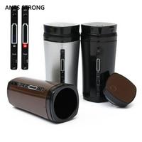 AMEISEN STRONG Tragbare wiederaufladbare USB kaffeetasse/automatische rühren elektrische heizung milch tee außenraumbecher