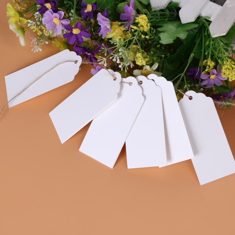 50 шт. крафт-бумага свадебный подарок ценники 10 м веревка гребешок этикетка для дома Декор Спальни молодоженов
