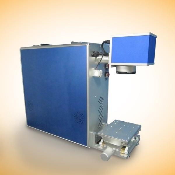 Macchina per marcatura laser a fibra ottica di design compatto ad - Attrezzature per la lavorazione del legno - Fotografia 2