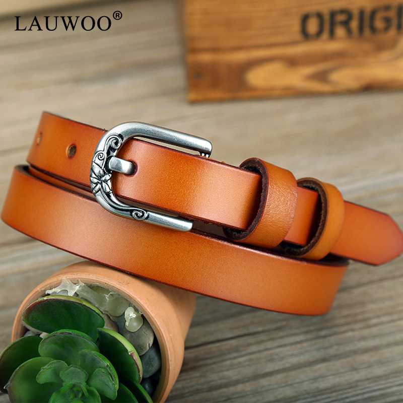 Back To Search Resultsapparel Accessories 2018 New Womens Strap Genuine Leather Casual All-match Women Brief Leather Belt Womens Round Buckle Belt High Quality