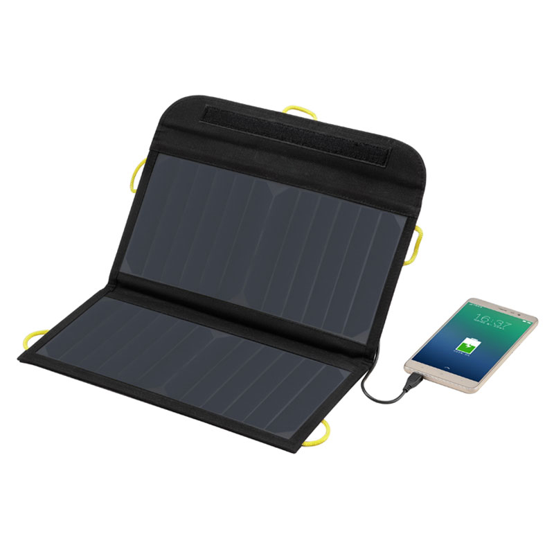 Portable Folding bag 13W 22 Efficiency Sunpower Solar Panel Charger for PowerBank Phone camera Can buckle