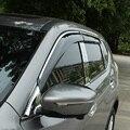 Для Nissan X-trail 2014 2015 АБС-Пластик accesaries Авто Окно Visor Vent Оттенки Солнце Дождь Дефлектор Гвардии тент приюты