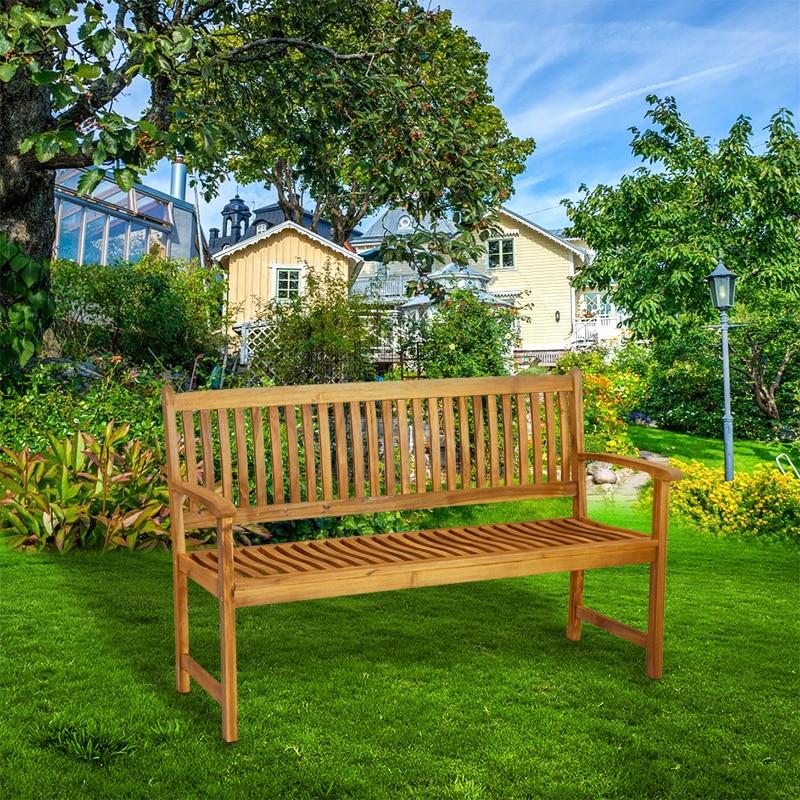 3 Seater Wooden Garden Patio Bench Acacia Garden Furniture HOT SALE 3 seater wooden garden patio bench acacia garden furniture hot sale