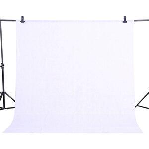 Image 2 - CY fotoğraf arka plan bez 1.6*3 M/5 x 10FT beyaz renk fotoğraf stüdyosu sigara dokuma kumaş arka plan ekran görüntü