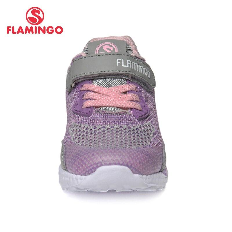 Marca QWEST, plantillas de cuero, arco transpirable, zapatos deportivos para niños, tamaño de Velcro 24 30, zapatillas para niños para niñas 91K JL 1215 - 4