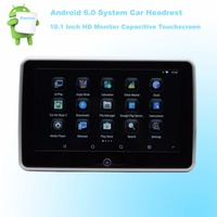 Car Headrest Android 6.0 Multimedia Player HD 10.1 Inch Monitor Quad Core (4 Core) WIFI Wireless Miracast Phone 1pcs