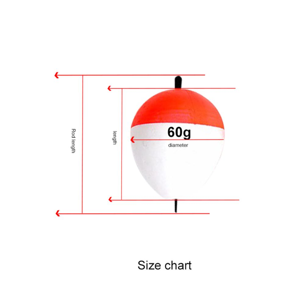 Image 4 - 1Pcs fishing floating EVA high quality luminous floating bait sea fishing squid fishing gear accessories plastic 8-in Fishing Float from Sports & Entertainment