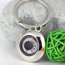 Термограф модный творческий брелок для ключей практичный полезный брелок с термометром брелок для ключей 86039