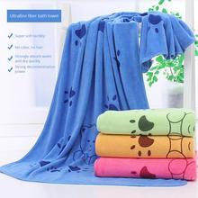 Горячая Распродажа, супер-размер, микрофибра, сильное Впитывающее Воду банное полотенце для домашних животных, полотенца для собак, золотой ретривер, плюшевый мишка, 140*70 см