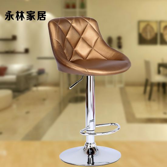 Delicieux Continental Bar Chair Bar Chairs Reception High Stool Height Adjustable PU  Leather Swivel