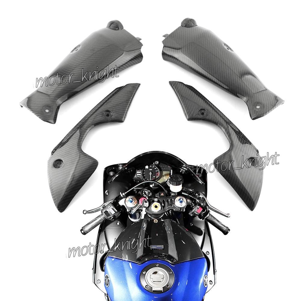 2009-2011 BMW S1000RR Upper Rear Seat Top Tail Fairing 100/% Twill Carbon Fiber