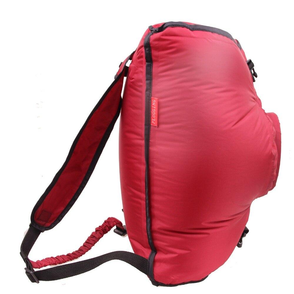 PLOGGING inflatable swimming bag
