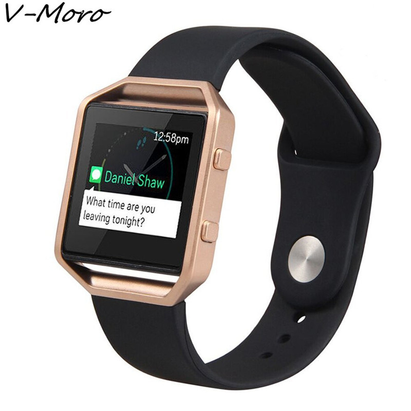 Replacement Silicone Sport Band Bracelet Strap Belt For Fitbit Blaze Tracker