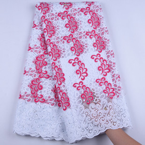 Image 3 - Pure White Milk Silk Lace African Net Lace Fabric French Lace Fabric High Quality Nigerian Lace Fabric For Wedding Dress1630B
