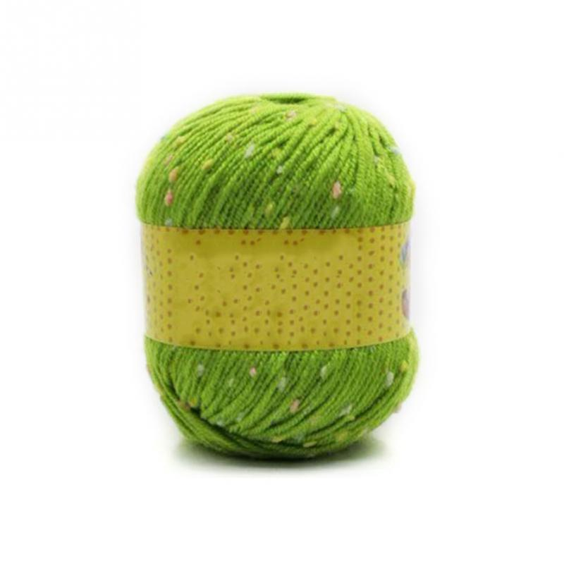 1 Ball Crocheting Embroidery Wool Knitting Crocheting Embroidery