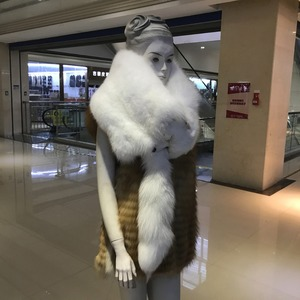 Image 3 - 100% Natural Real Fox Fur Scarf For Women Fashion Winter Genuine Fur Collar Scarves Warm Real Fox Fur Scarf Wholesale And Retail