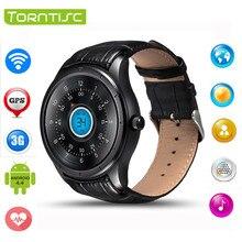 Neueste q3 3g smart watch telefon mt6572 dual core android 4.4 OS Unterstützung Sim-karte Bluetooth WIFI GPS Herzfrequenz Sport Smartwatch