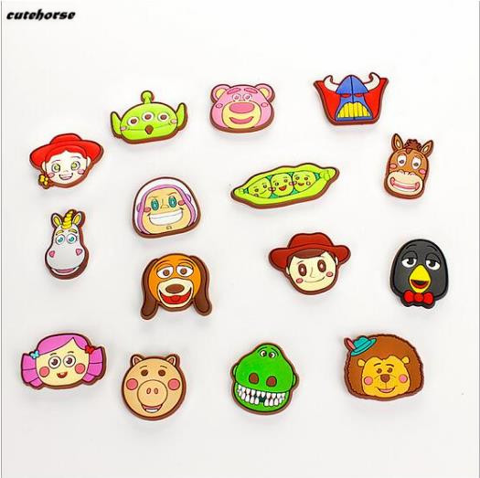 Factory direct sale resin handicraft Toy story magnetic refrigerator